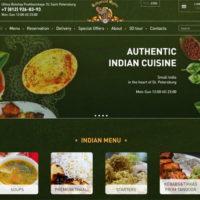 Сайт ресторана (доставка еды)